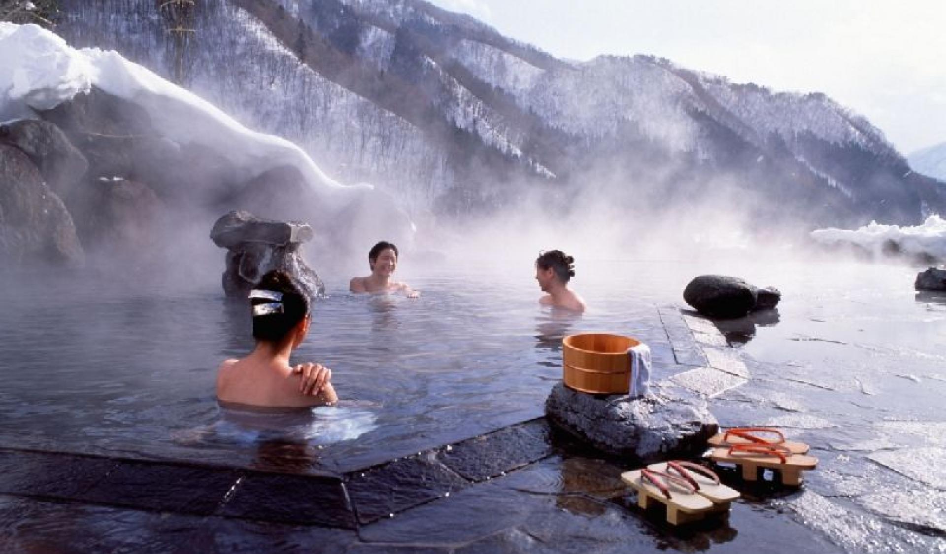 Bagno Giapponese Benessere : Bagno giapponese un antico rito di benessere per purificare corpo